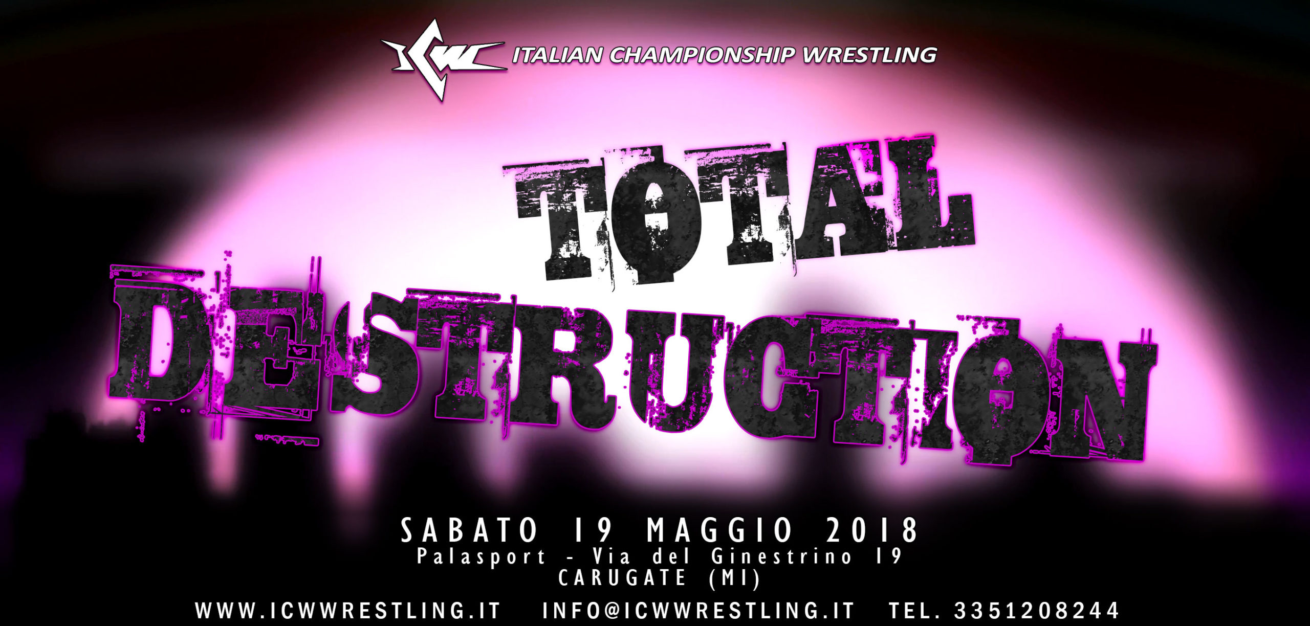ICW - Total Destruction- risultati