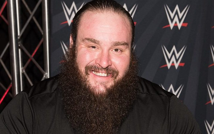 COLUMBUS, OH - MARCH 07: WWE Braun Stowman attends Arnold Sports Festival 2015 - Day 3 on March 7, 2015 in Columbus, Ohio. (Photo by Dave Kotinsky/Getty Images)