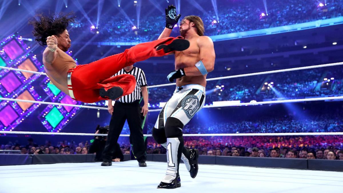 Shinsuke Nakamura v AJ Styles stipulazione
