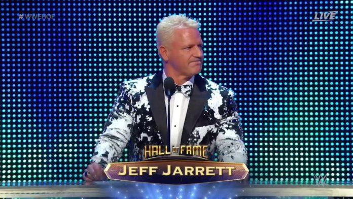 Jeff Jarrett Hall Of Famer