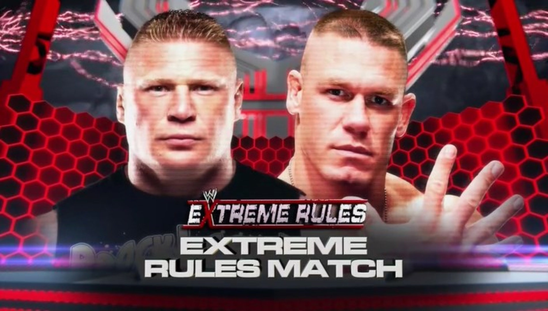 EXTREME RULES BROCK LESNAR