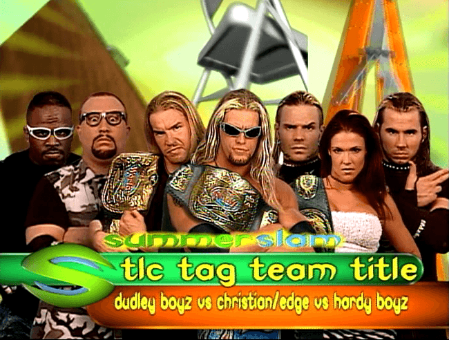 Summerslam 2000 TLC
