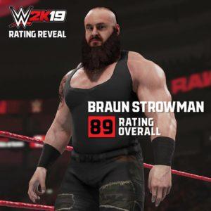 WWE 2K19: SVELATI GLI OVERALL DI ALCUNE SUPERSTARS!