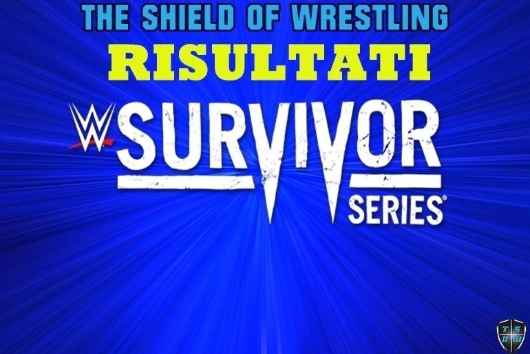 Survivor Series- Risultati
