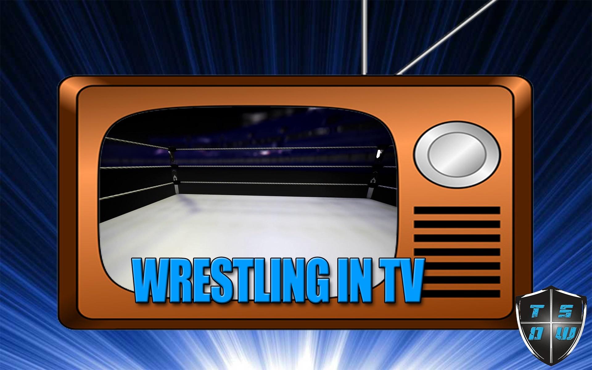 Il wrestling in TV