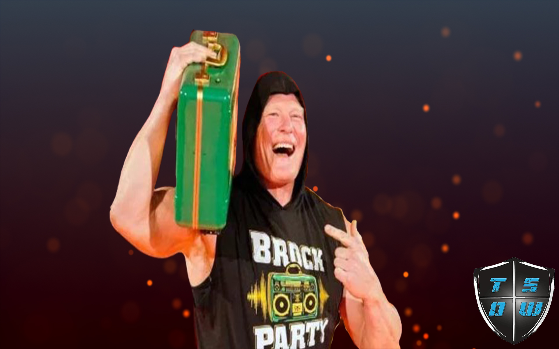 Brock Lesnar presente per incassare