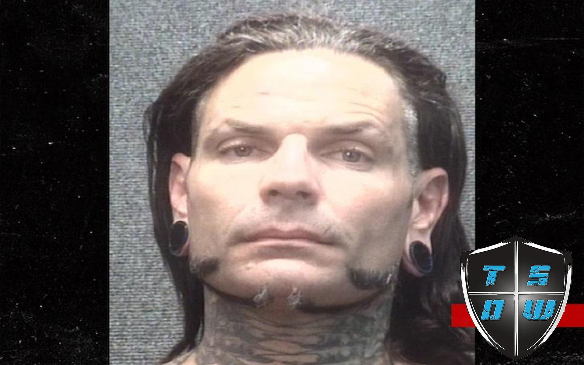 Jeff Hardy Arrestato