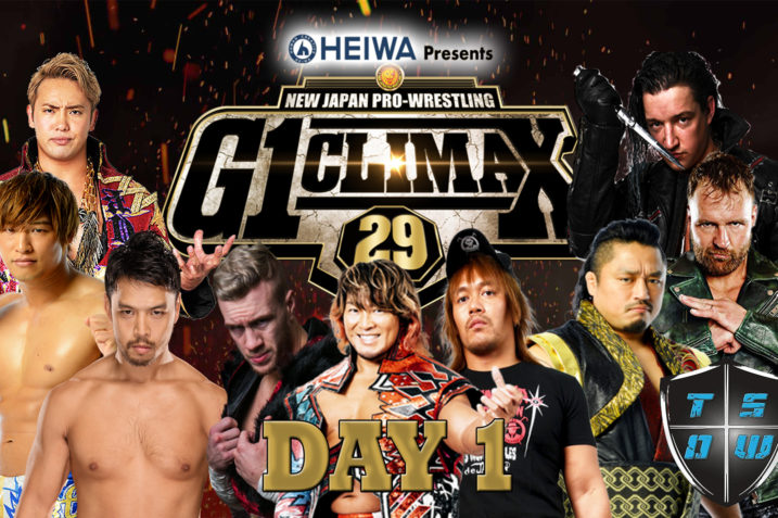 Report G1 Climax 29 06-07-2019 | Day 1