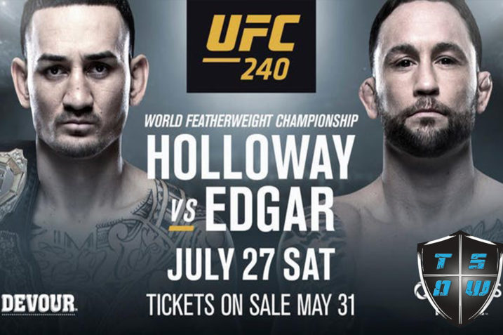 UFC 240: Holloway vs Edgar | Risultati