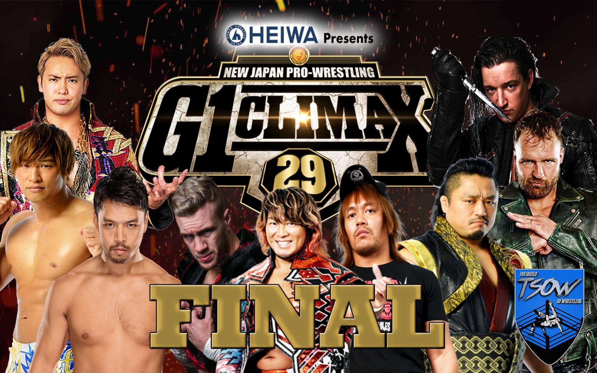 finale G1 Climax
