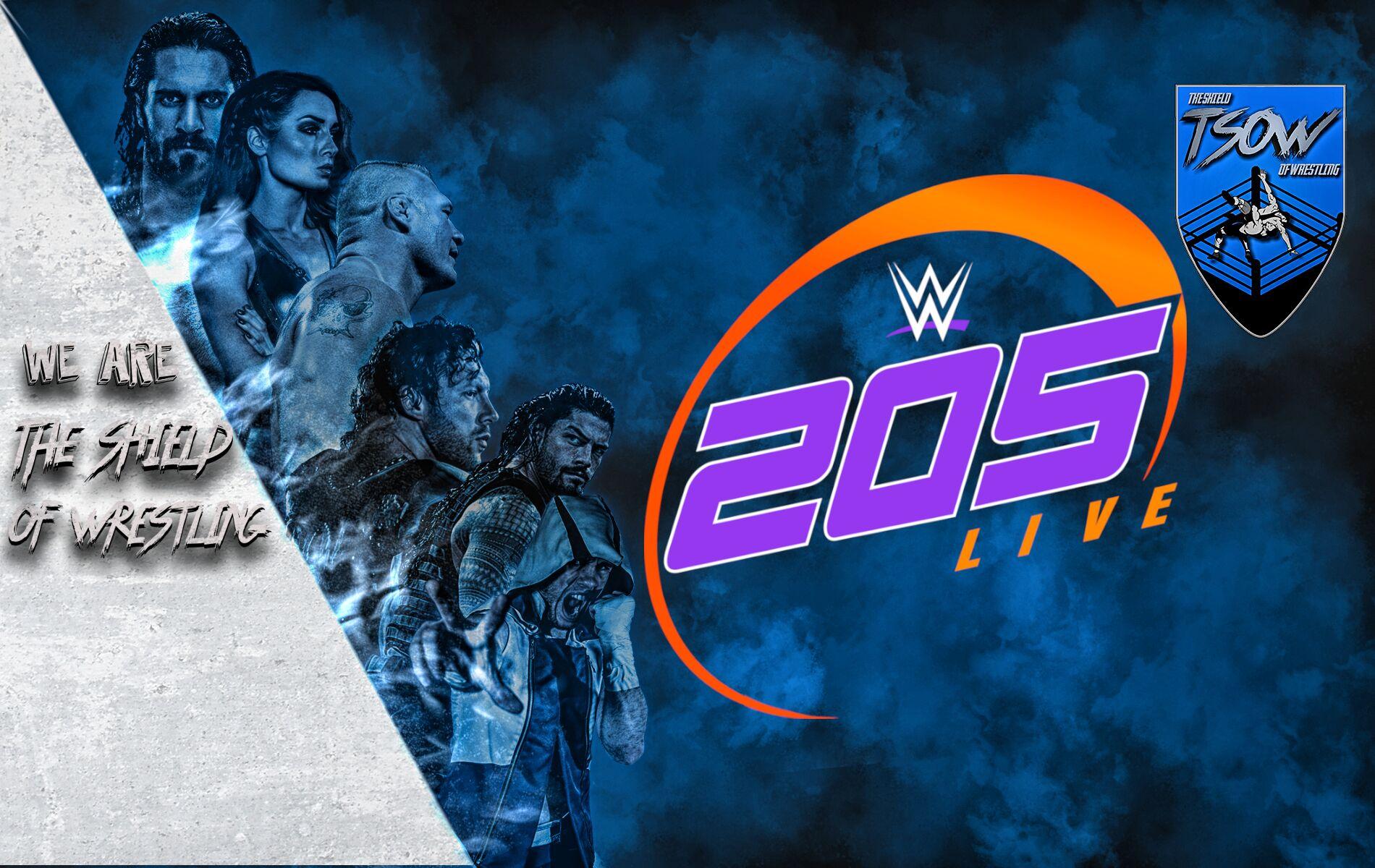 205 live la decisione - wwe