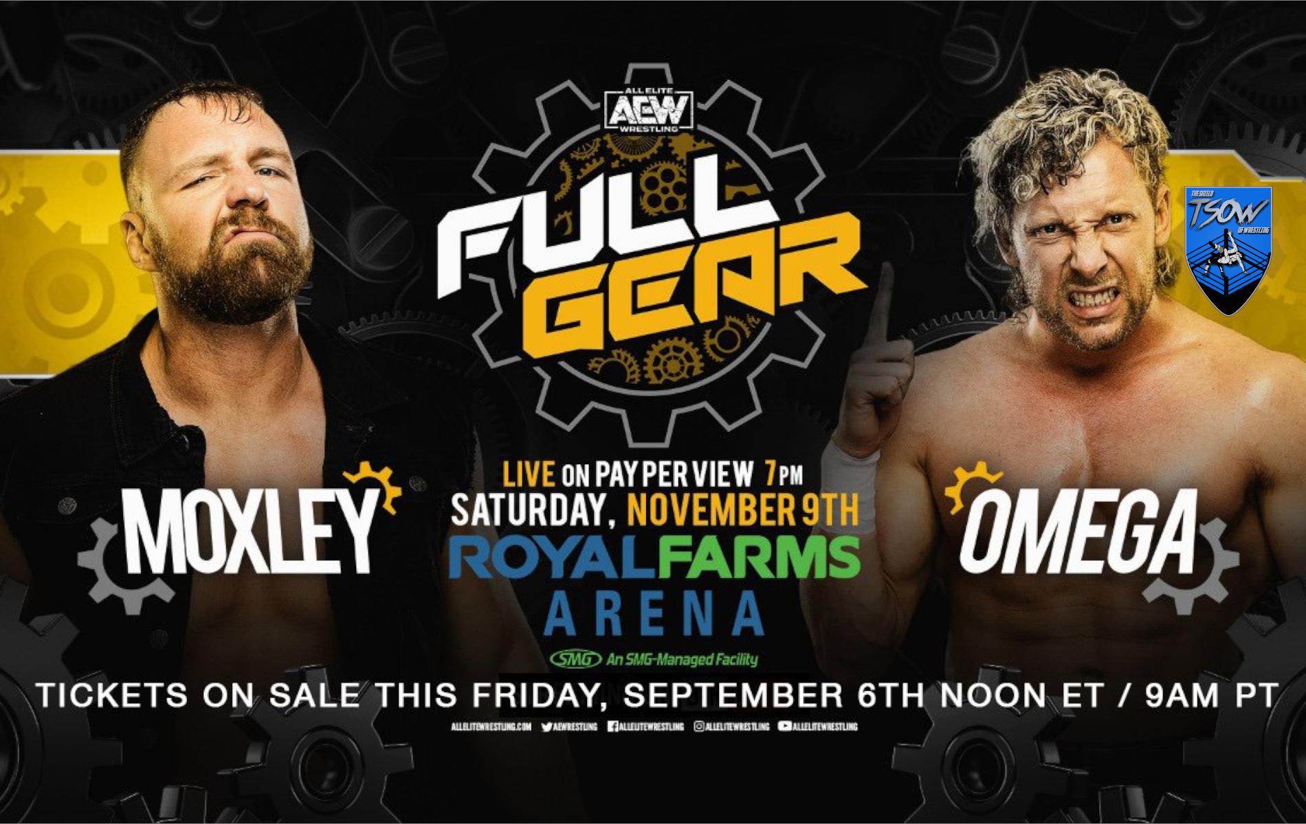 Annunciato il match tra Jon Moxley e Kenny Omega