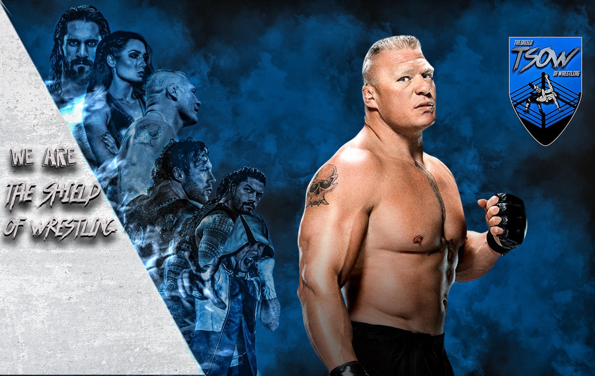 Brock Lesnar è tornato