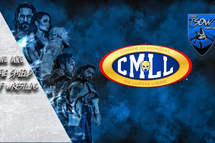 Il CMLL licenzia - licenzia