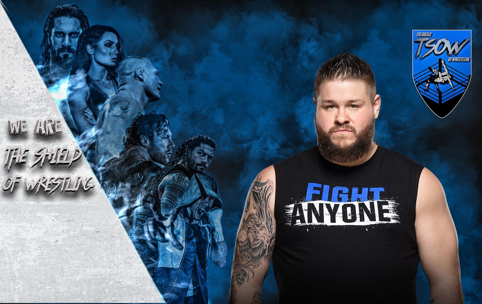 La WWE fa chiarezza - licenziamento di Kevin Owens