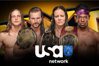 Match titolato su USA Network
