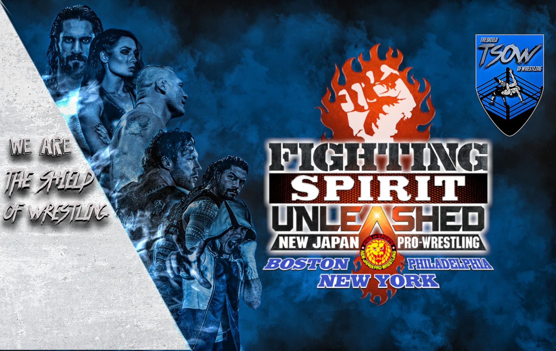 NJPW Fighting Spirit Unleashed - NJPW