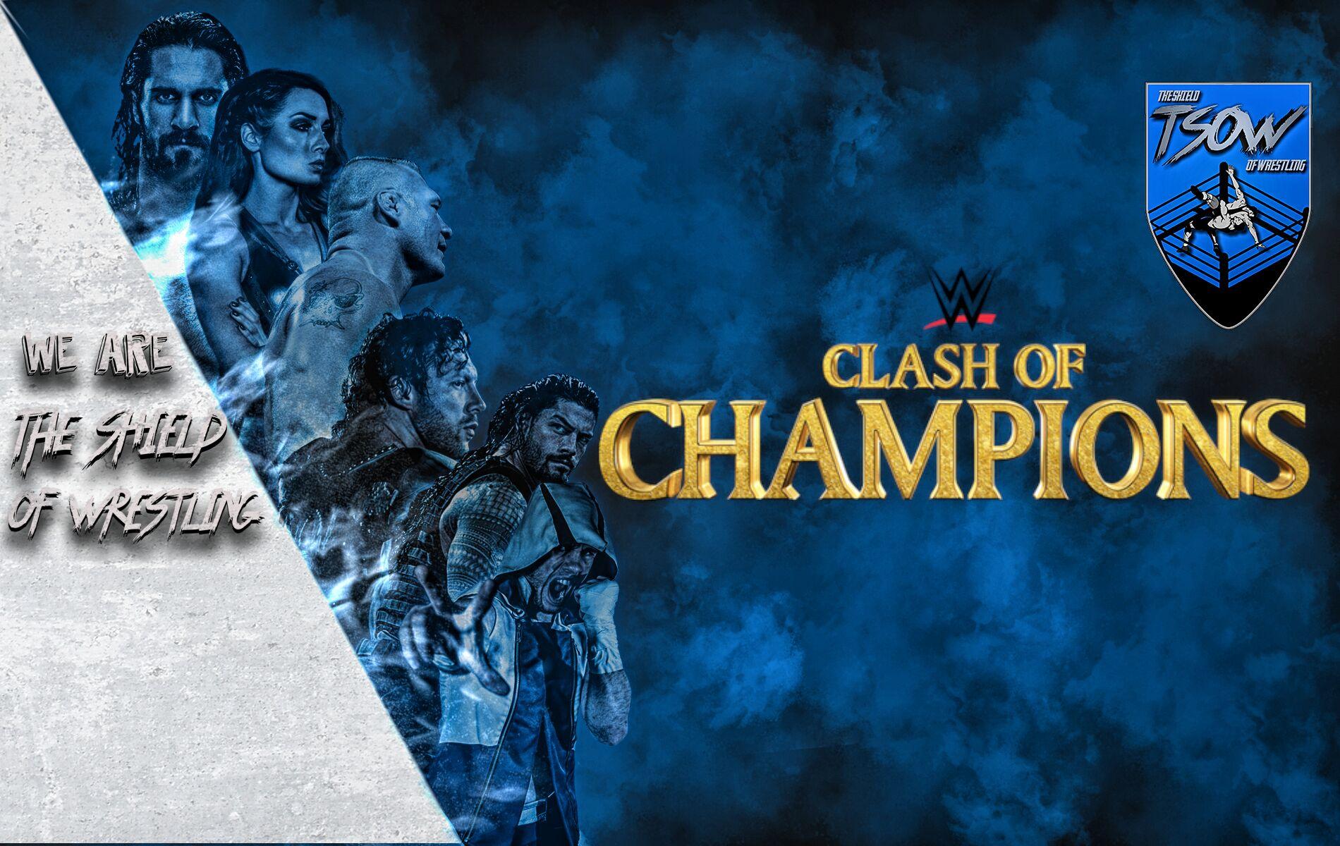 Rollins e Strowman - Clash Of Champions