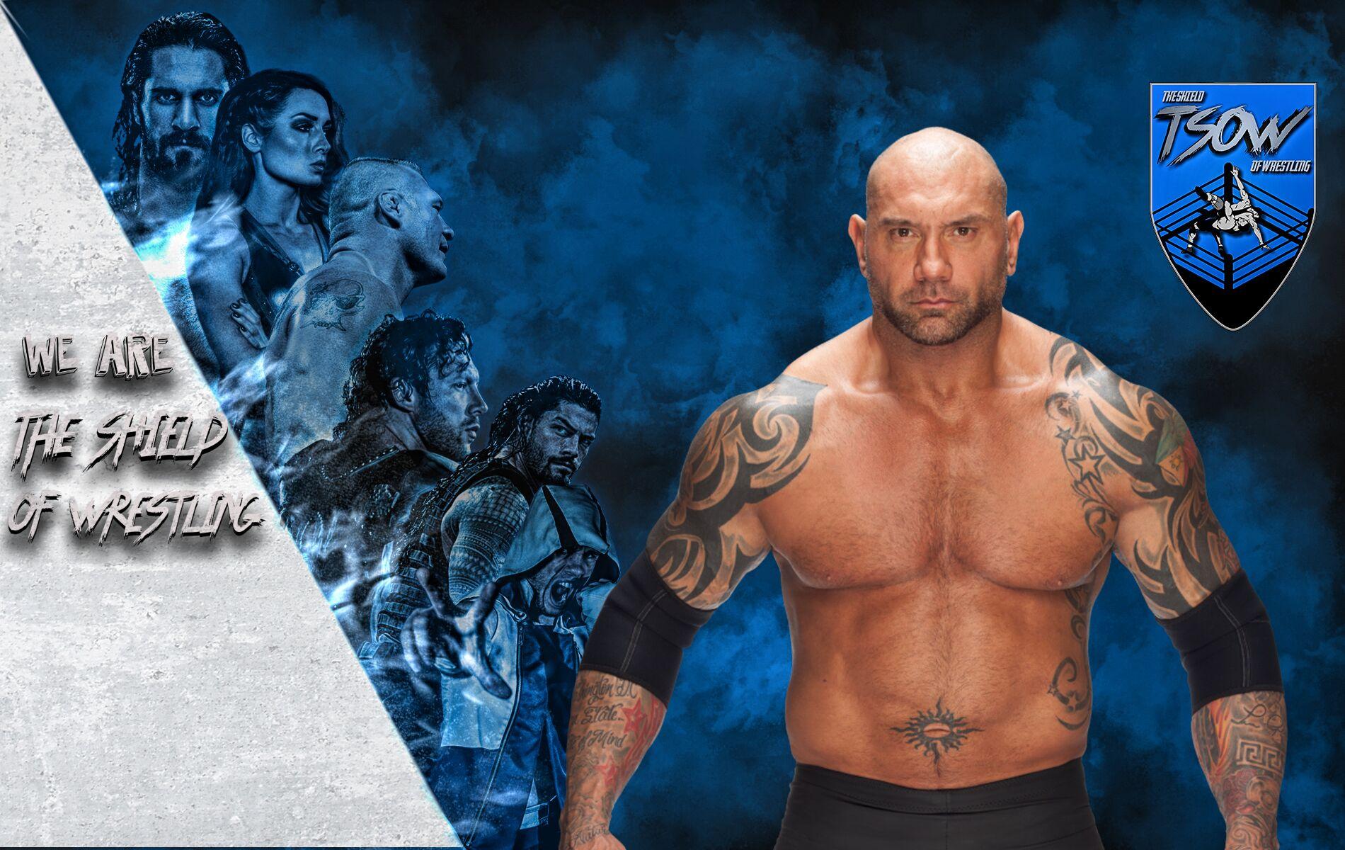 Wrestler di IMPACT sfida Batista - Killer Kross