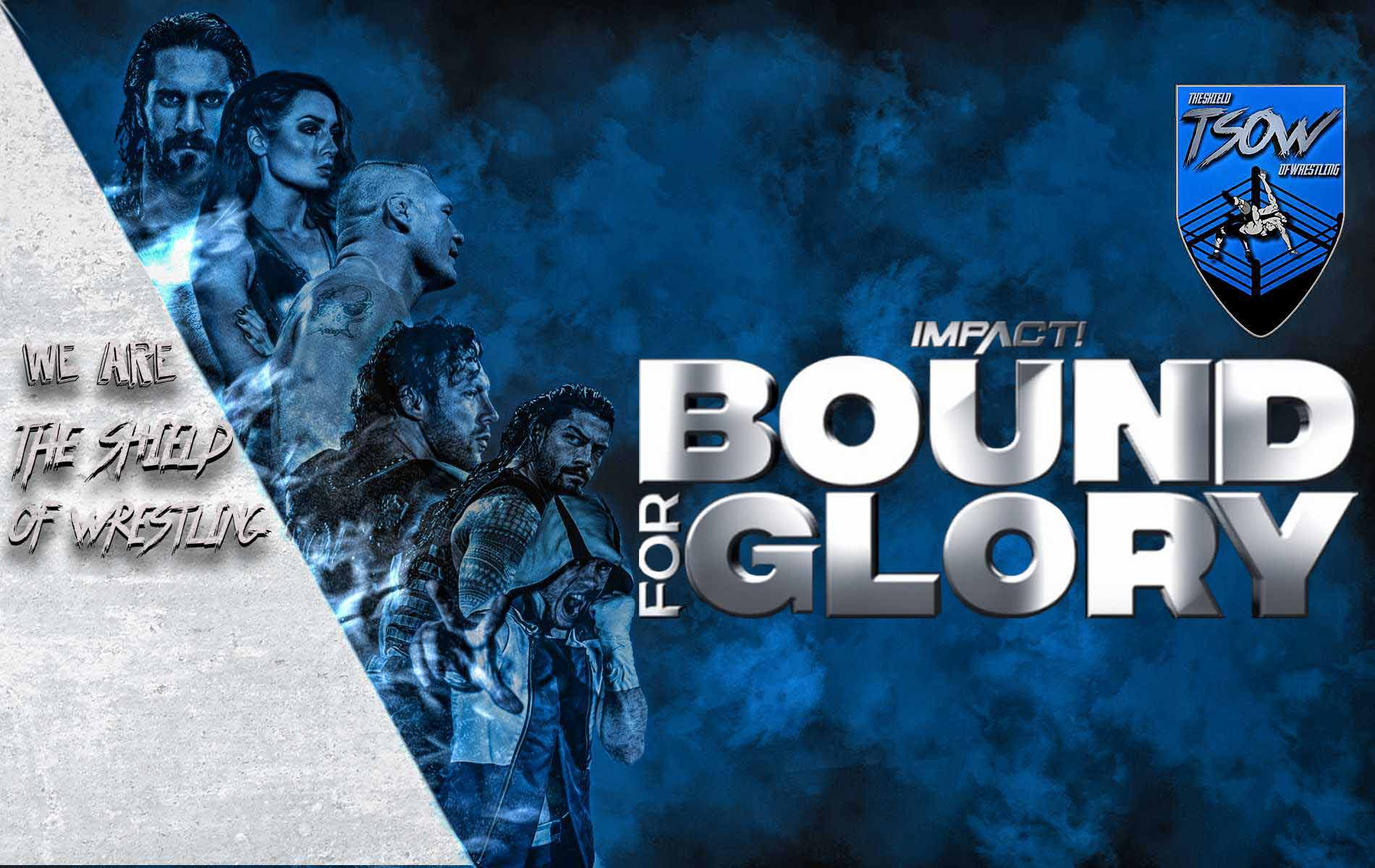 Bound For Glory 20-10-2019 Risultati