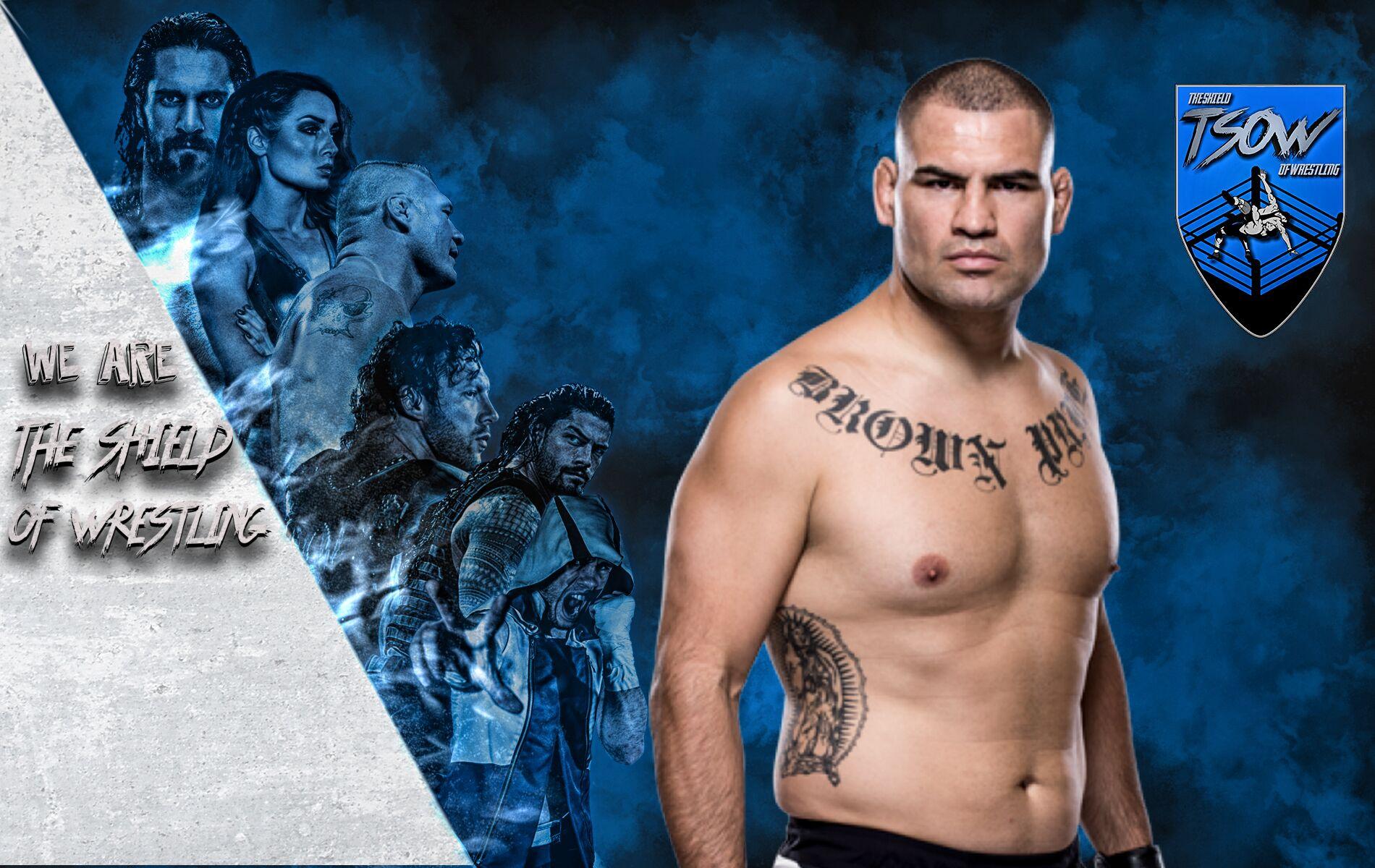 Cain Velasquez ha aggredito Brock Lesnar