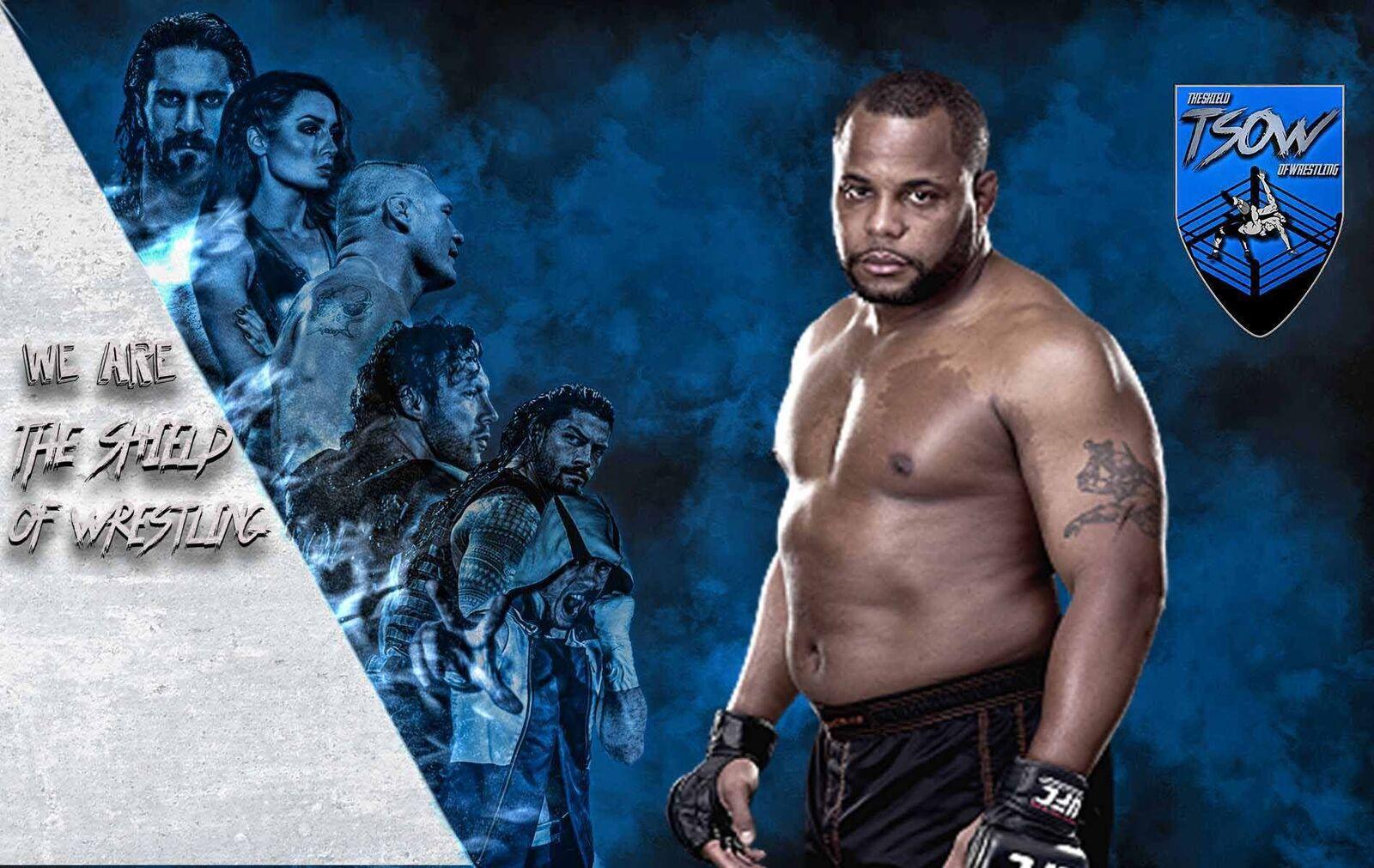 Daniel Cormier in WWE