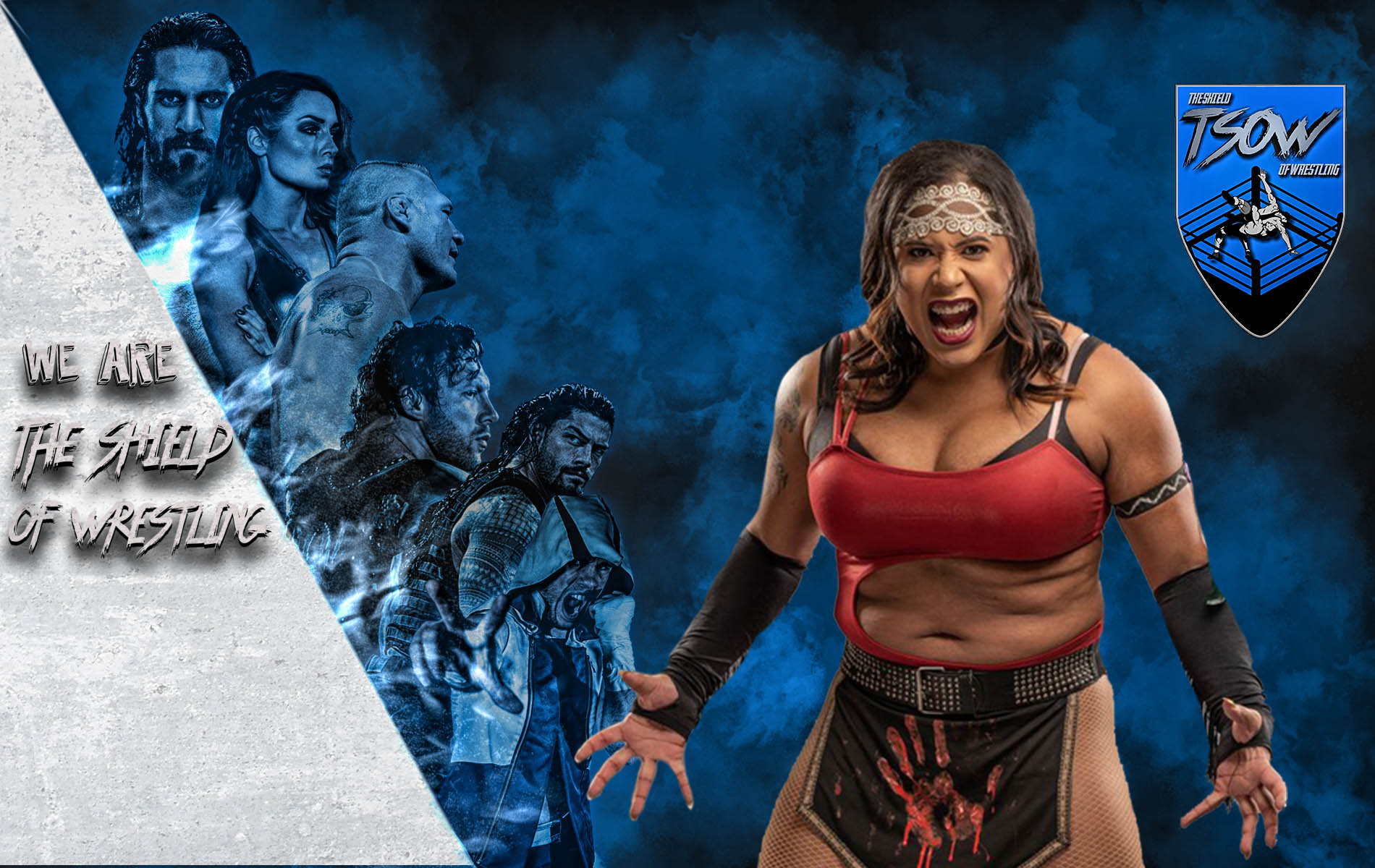 Nyla Rose attacca Becky Lynch