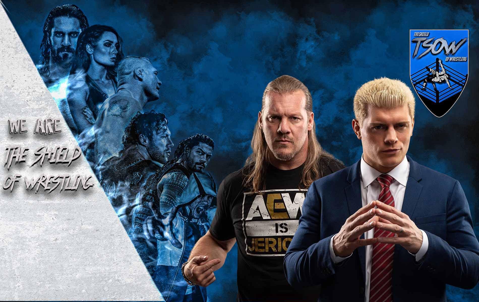 Rissa tra Cody Rhodes e Chris Jericho al New York Comic Con