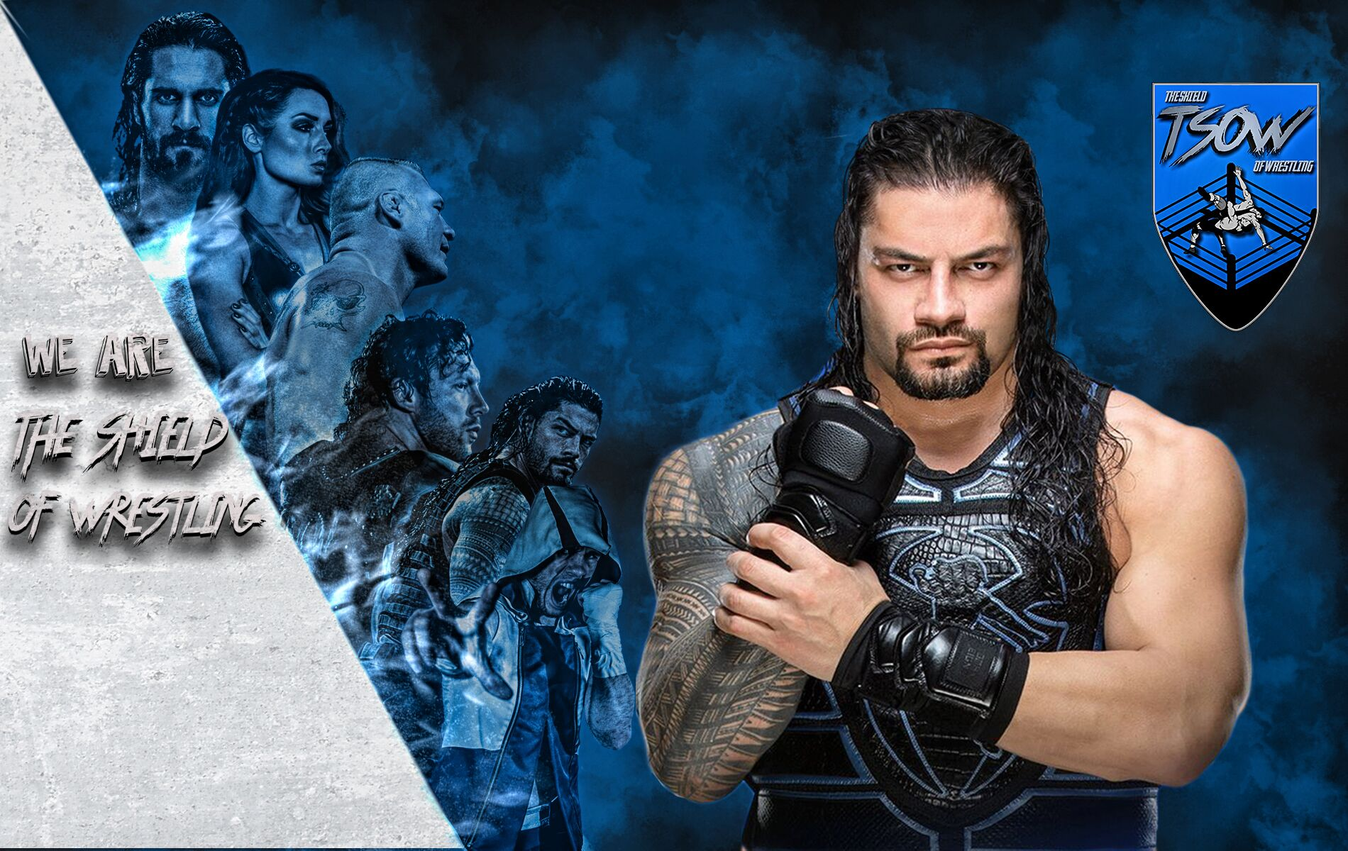 Roman Reigns infortunato