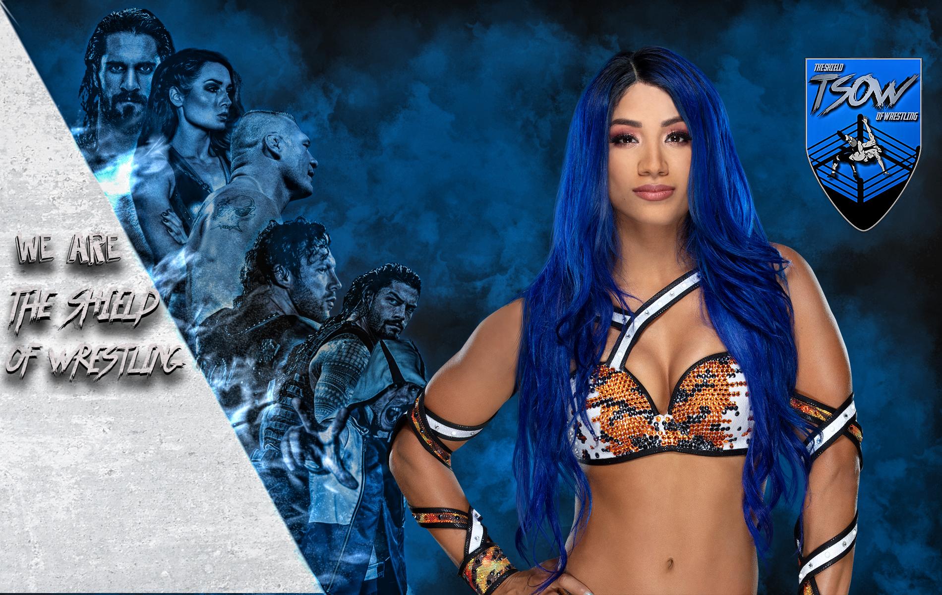 Sasha Banks tornerà a SmackDown