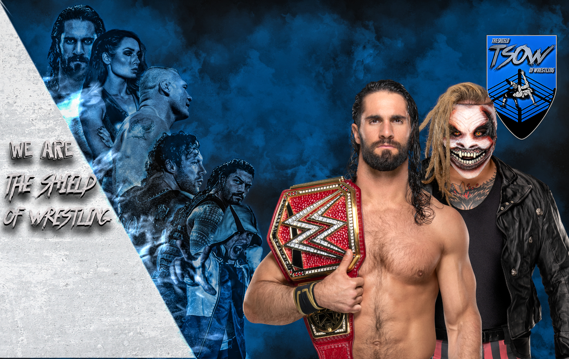 Seth Rollins vs The Fiend