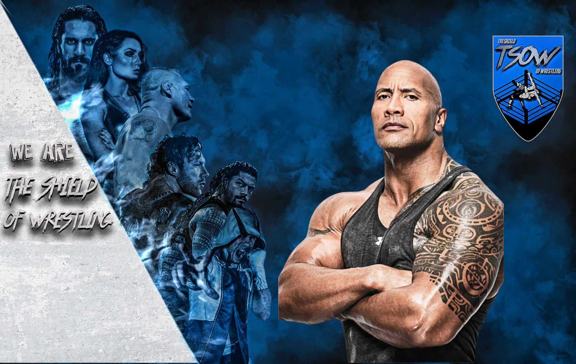 The Rock a SmackDown