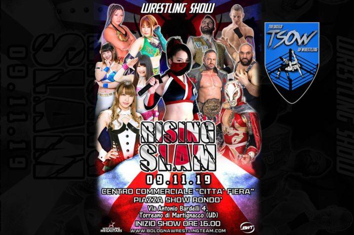 Rising Slam: risultati dell'ultimo show della Wrestling Megastars
