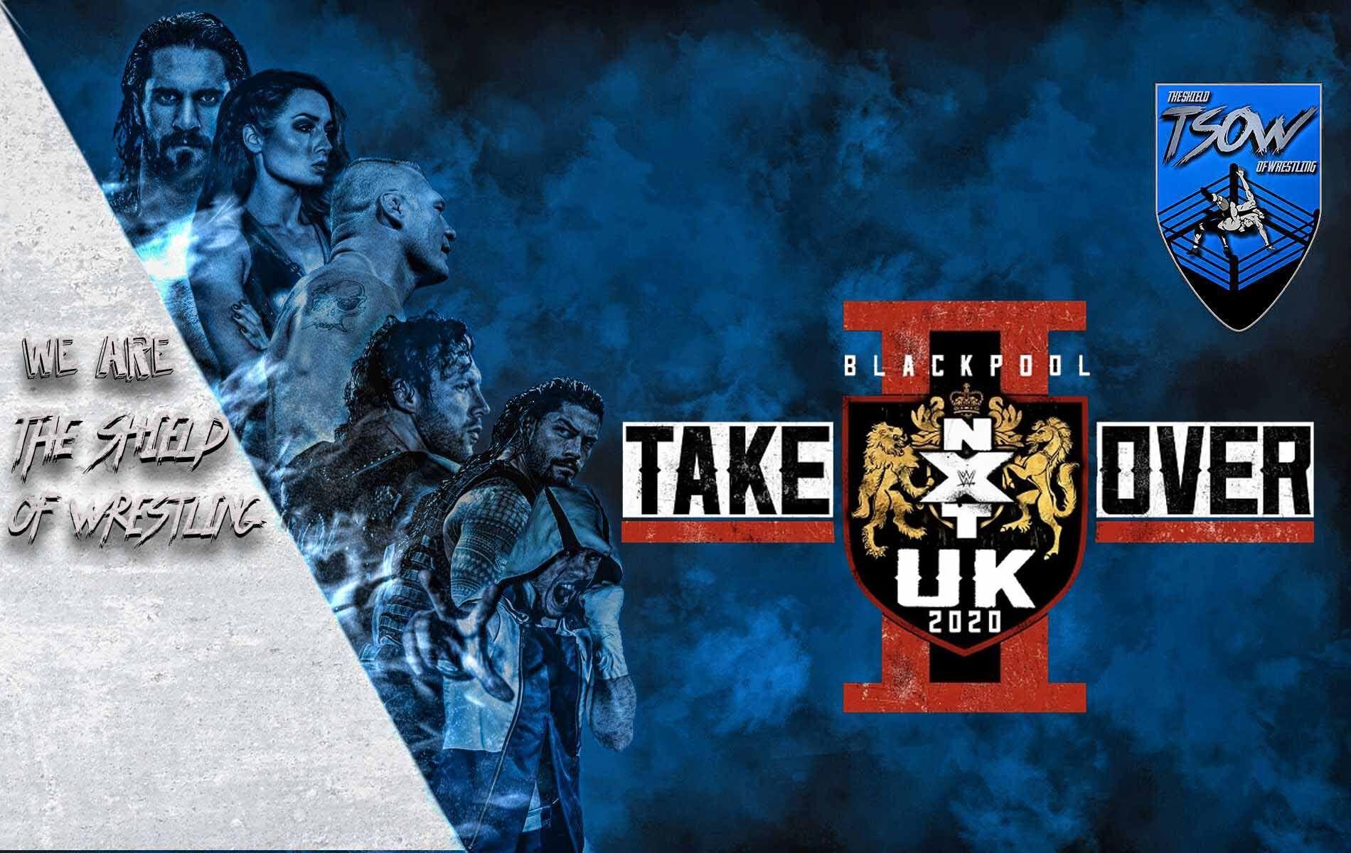 Annunciati due match titolati - NXT UK TakeOver: Blackpool II