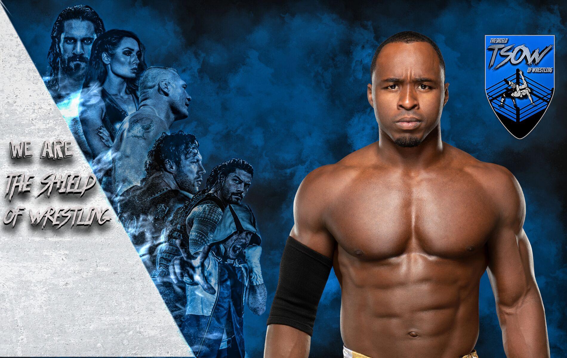 Booker T su Jordan Myles - WWE Hall Of Famer