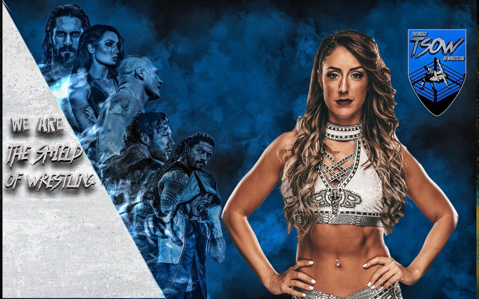 Britt Baker inquadrata - NXT TakeOver: War Games III