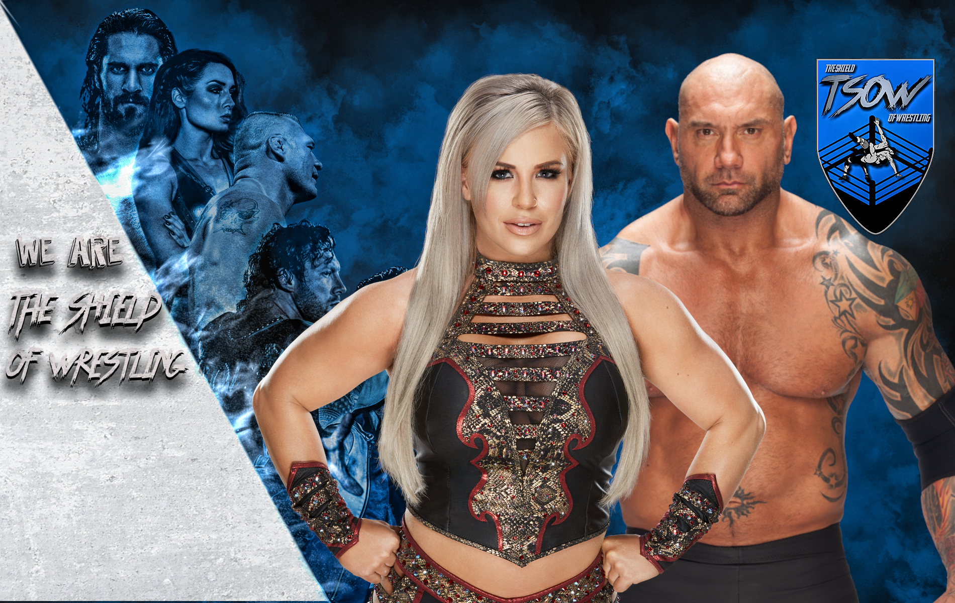 Dana Brooke e Batista
