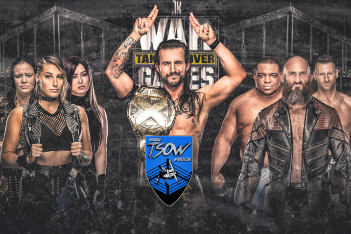 NXT TakeOver - WarGames III Report, NXT TakeOver: WarGames III