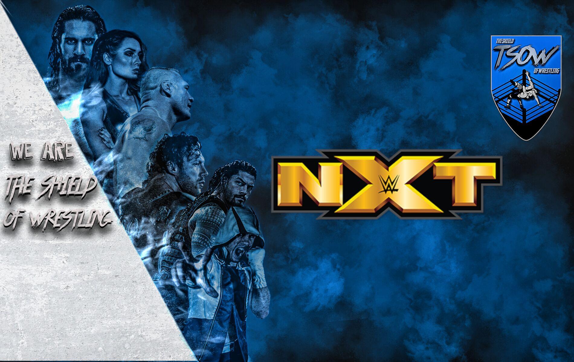 NXT annunciato match