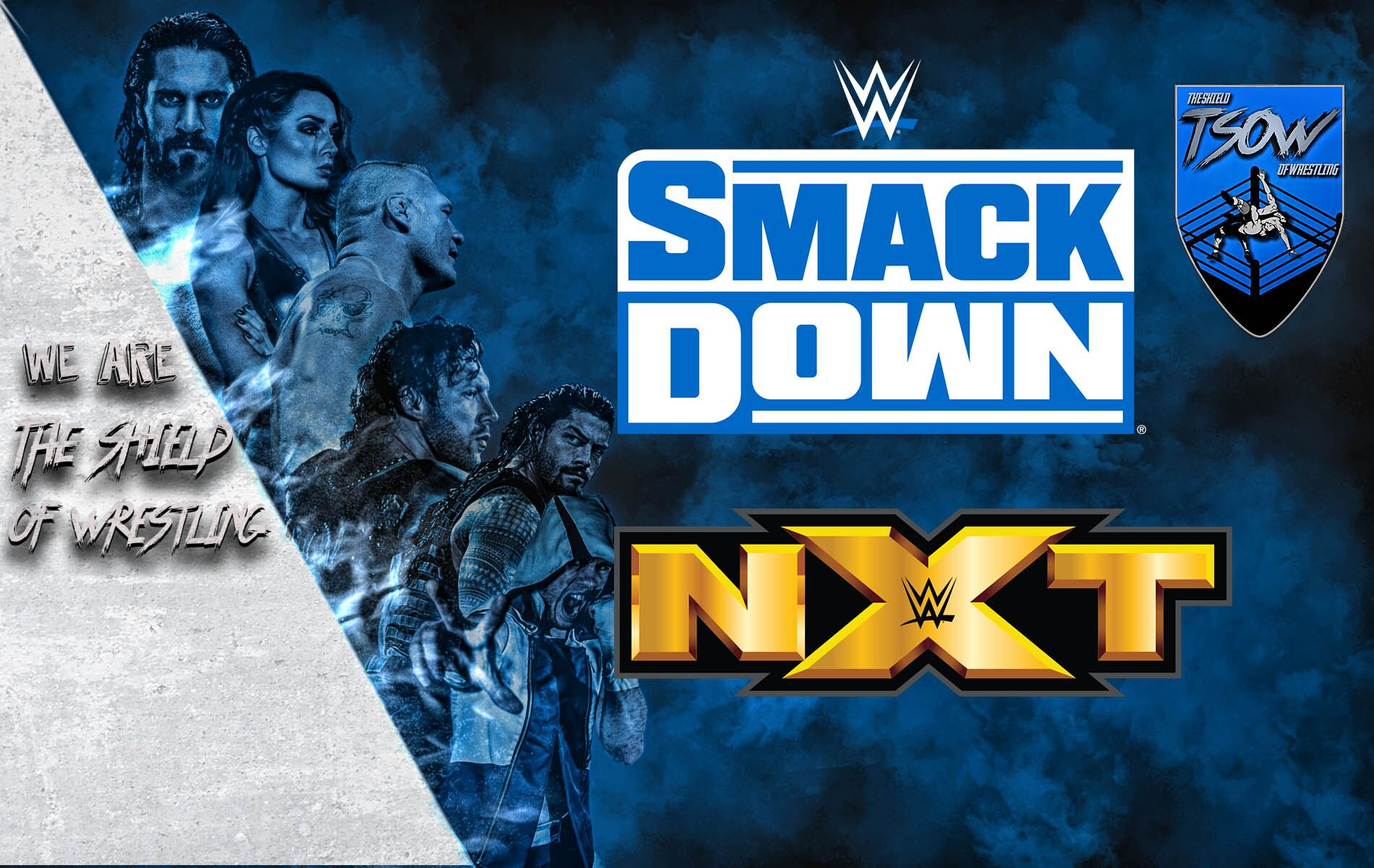 NXT invade SmackDown