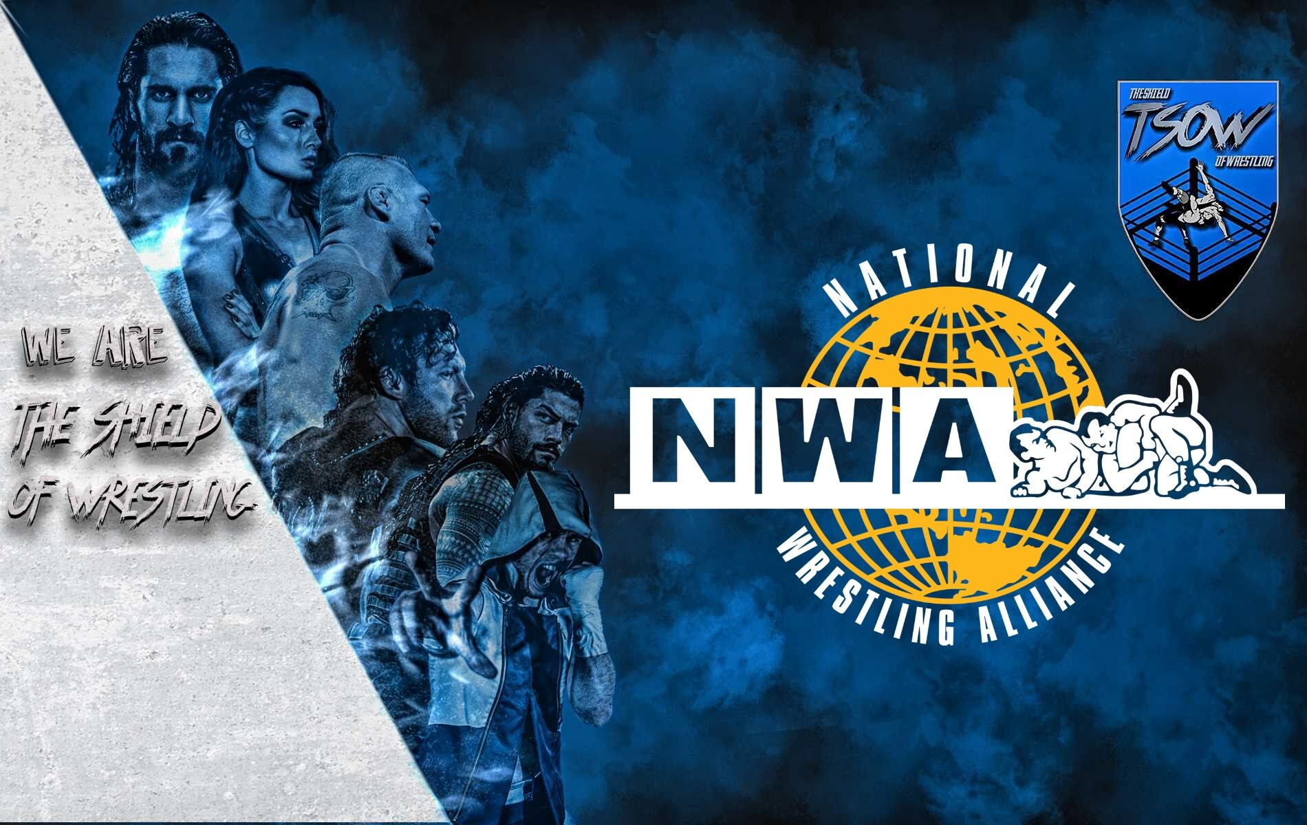 Nuovo show NWA - The Circle Squared