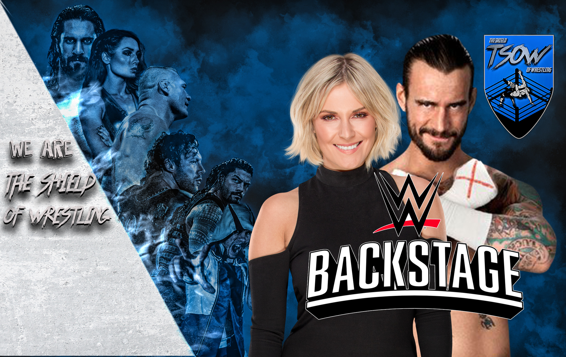 Renee Young commenta