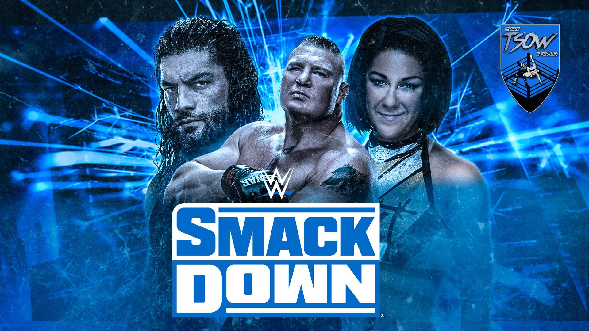 SmackDown Risultati 01-11-2019