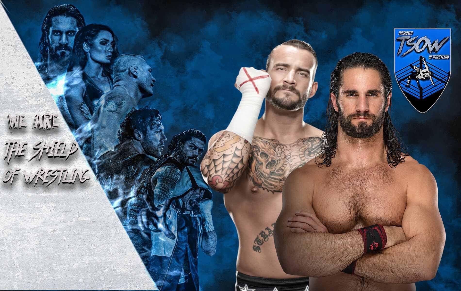 Seth Rollins sfida CM Punk - WrestleMania 36