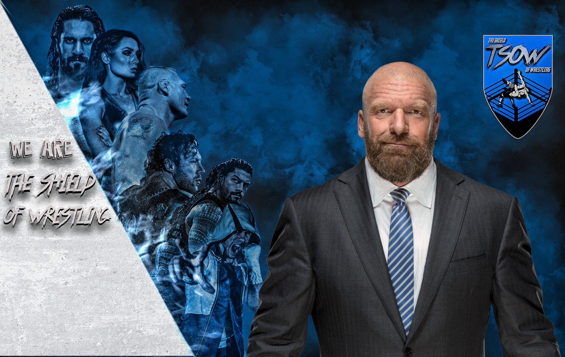 Triple H lotterà
