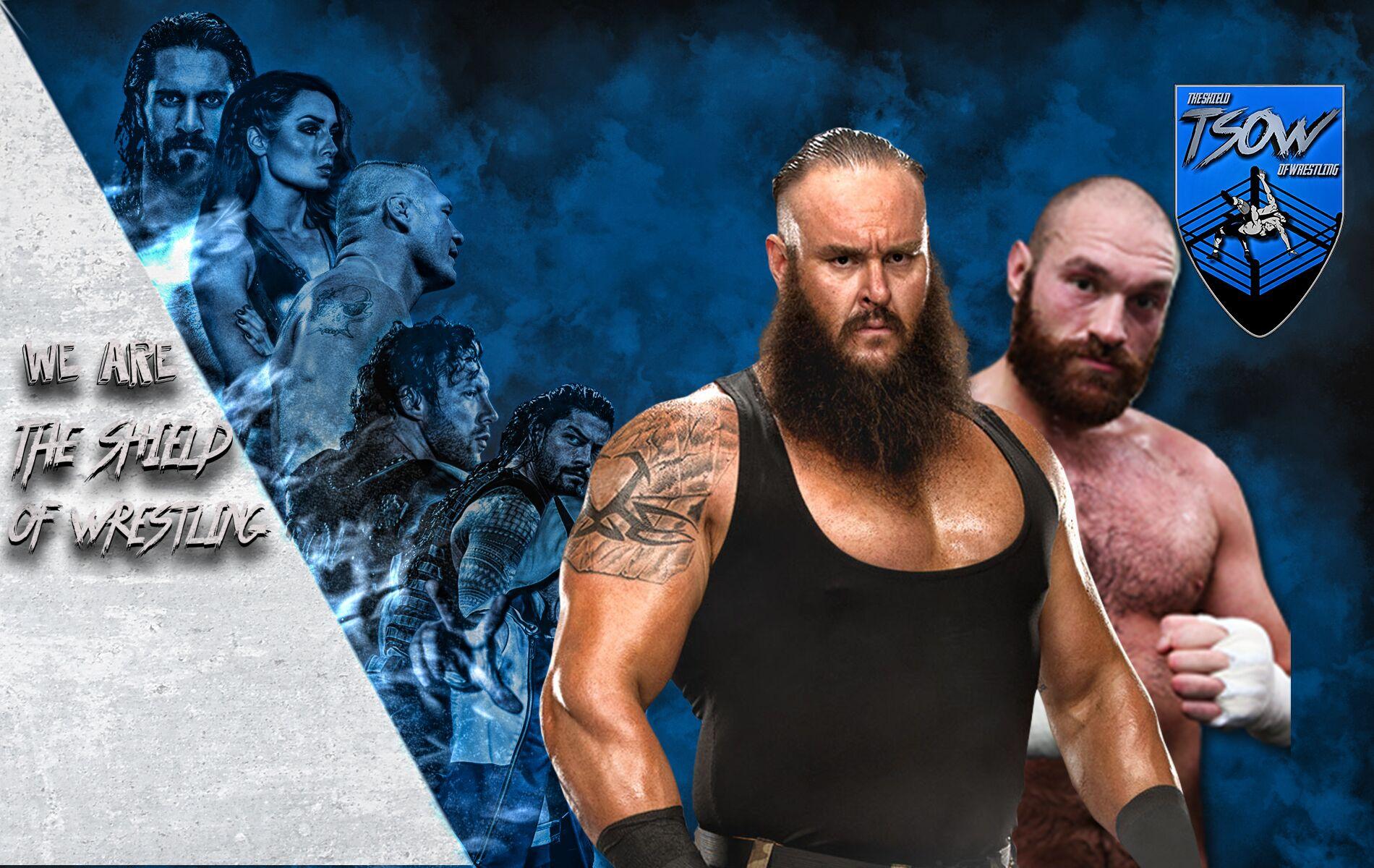 Tyson Fury Vs Braun Strowman