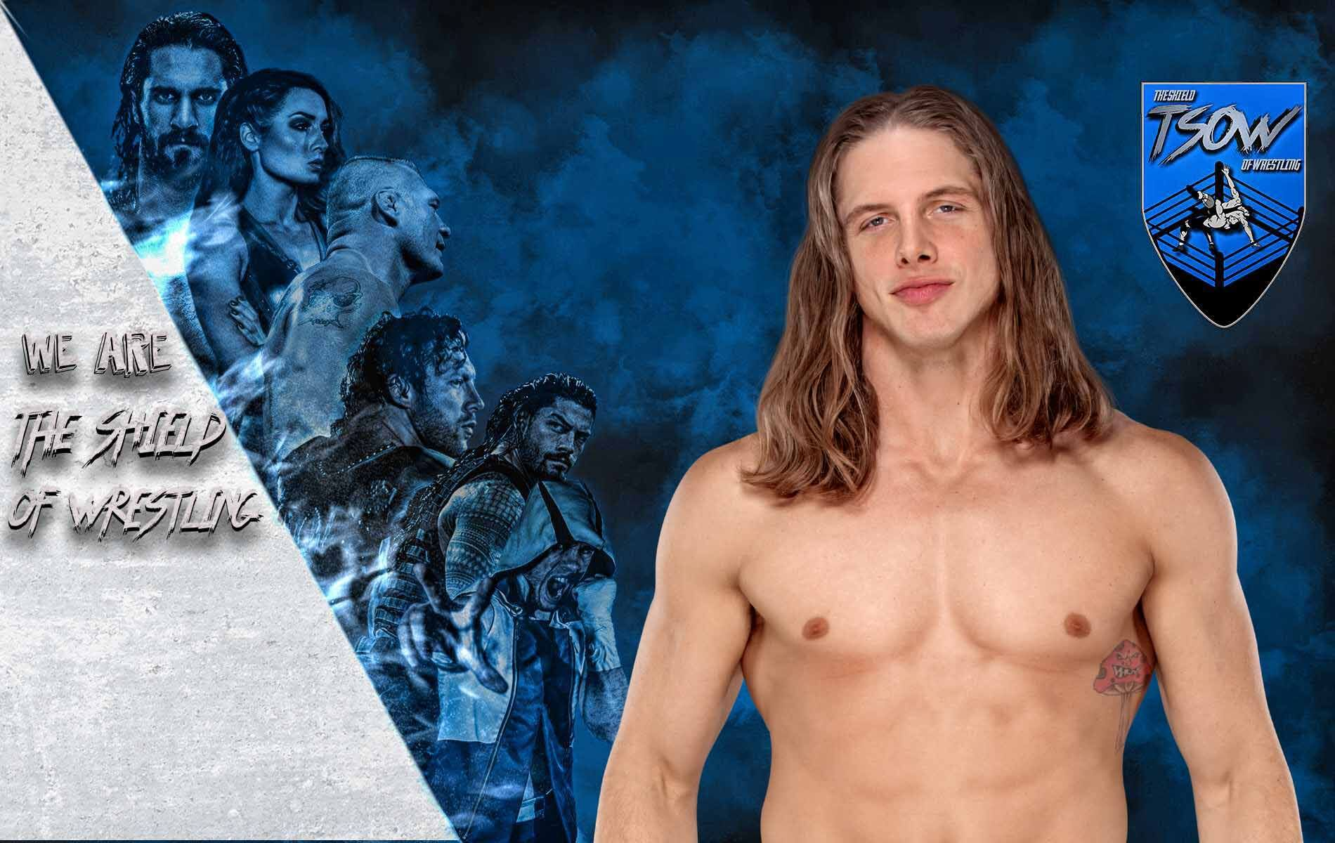 matt riddle marijuana