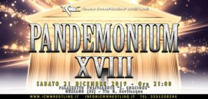 ICW Pandemonium XVII: La card dell'evento