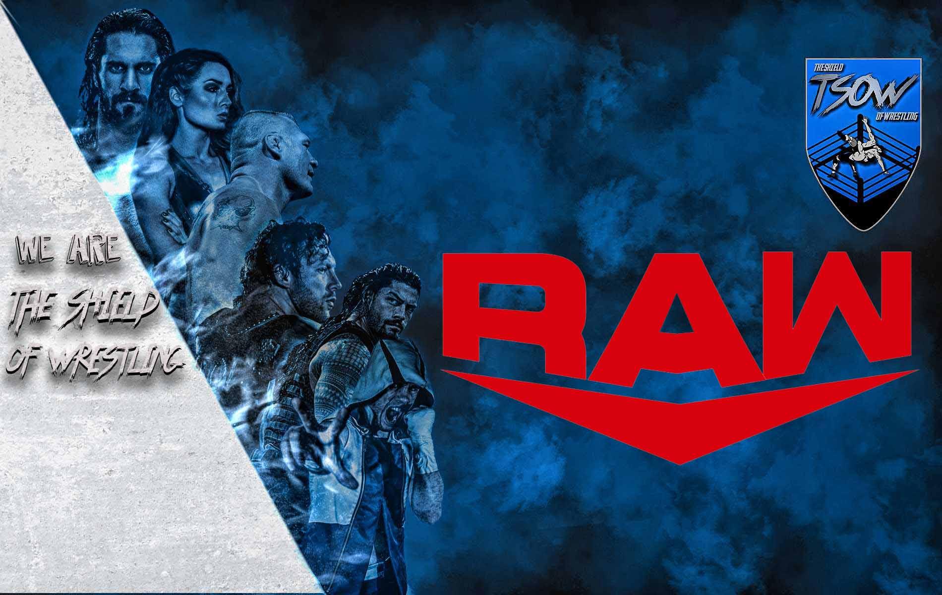Prossima puntata RAW