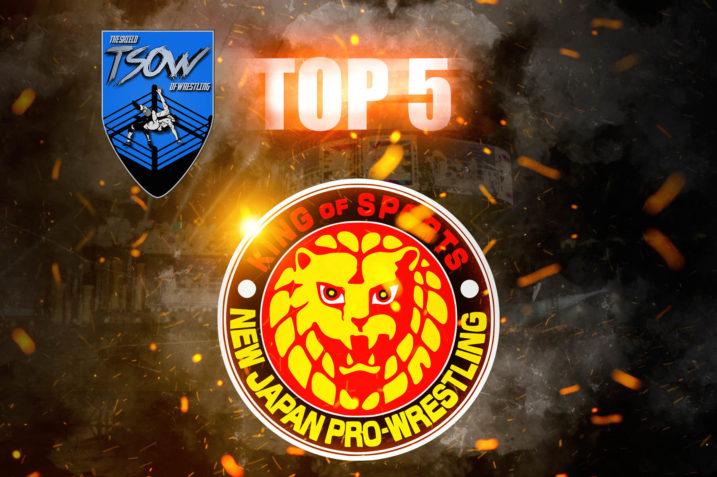 NJPW | 5 MIGLIORI MOMENTI dell'anno
